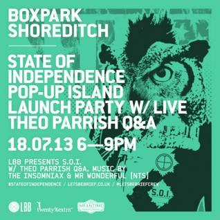 S.O.I. launch w/ Theo Parrish