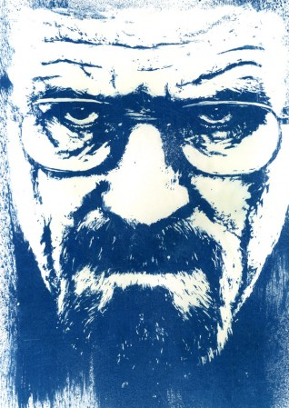 Ben Rider :: Breaking Bad Cyanotype