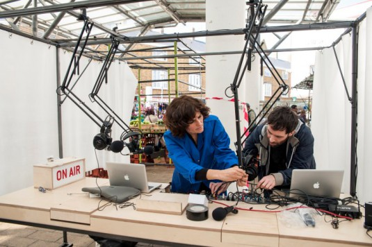 How to make your own podcast - LBB Pop-Up School - Soho Works - sml