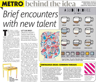 LBB featured in the Metro