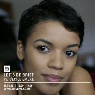 LBB on NTS :: Cecile Emeke