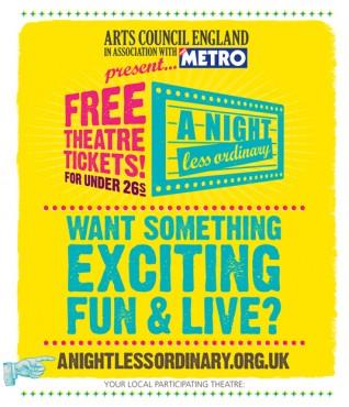 A Night Less Ordinary :: Arts Council