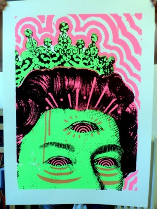 Ben Rider :: Print Process