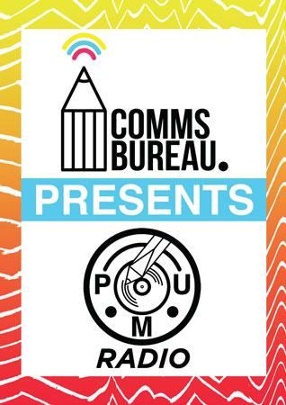 Comms Bureau Presents  Pick Me Up Radio - Kickstarter Campaign