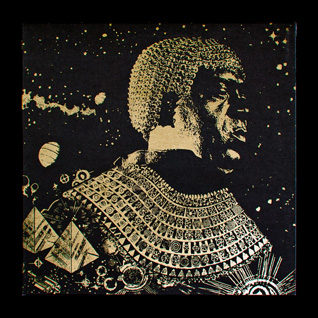 House of Traps :: Sun Ra — 'The Shadows Cast By Tomorrow' cover art for Jazzman Records
