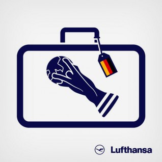 Lufthansa Airlines show how #ModernMarketing is done with this targeted #WorldCup twitter campaign