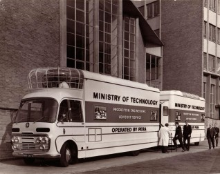 The restoration of The Ministry of Technology Mobile Cinema