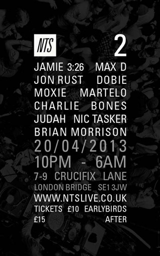 NTS 2nd Birthday :: 14.04.13