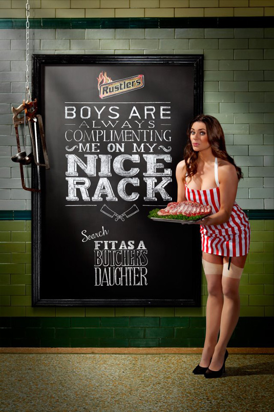 Rustlers Fit As A Butcher S Daughter