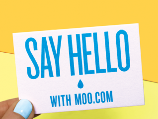 Say Hello to the new Moo c/o KesselsKramer