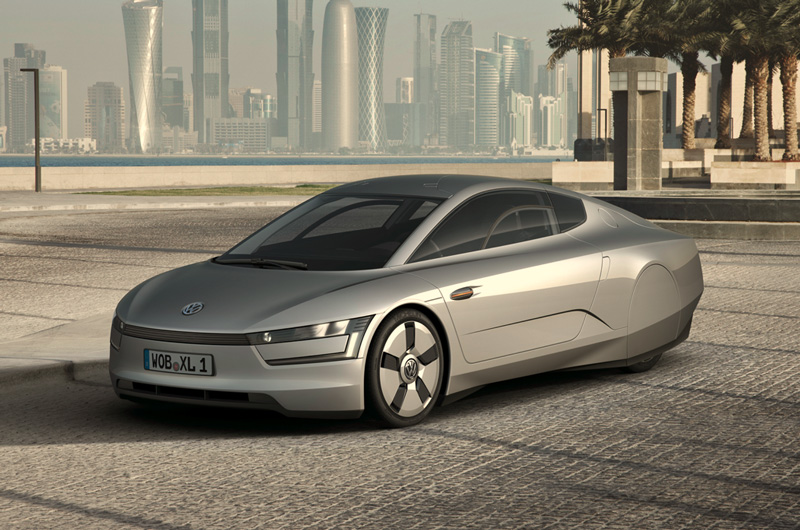 Vw Xl1 The New 300mpg Coupe