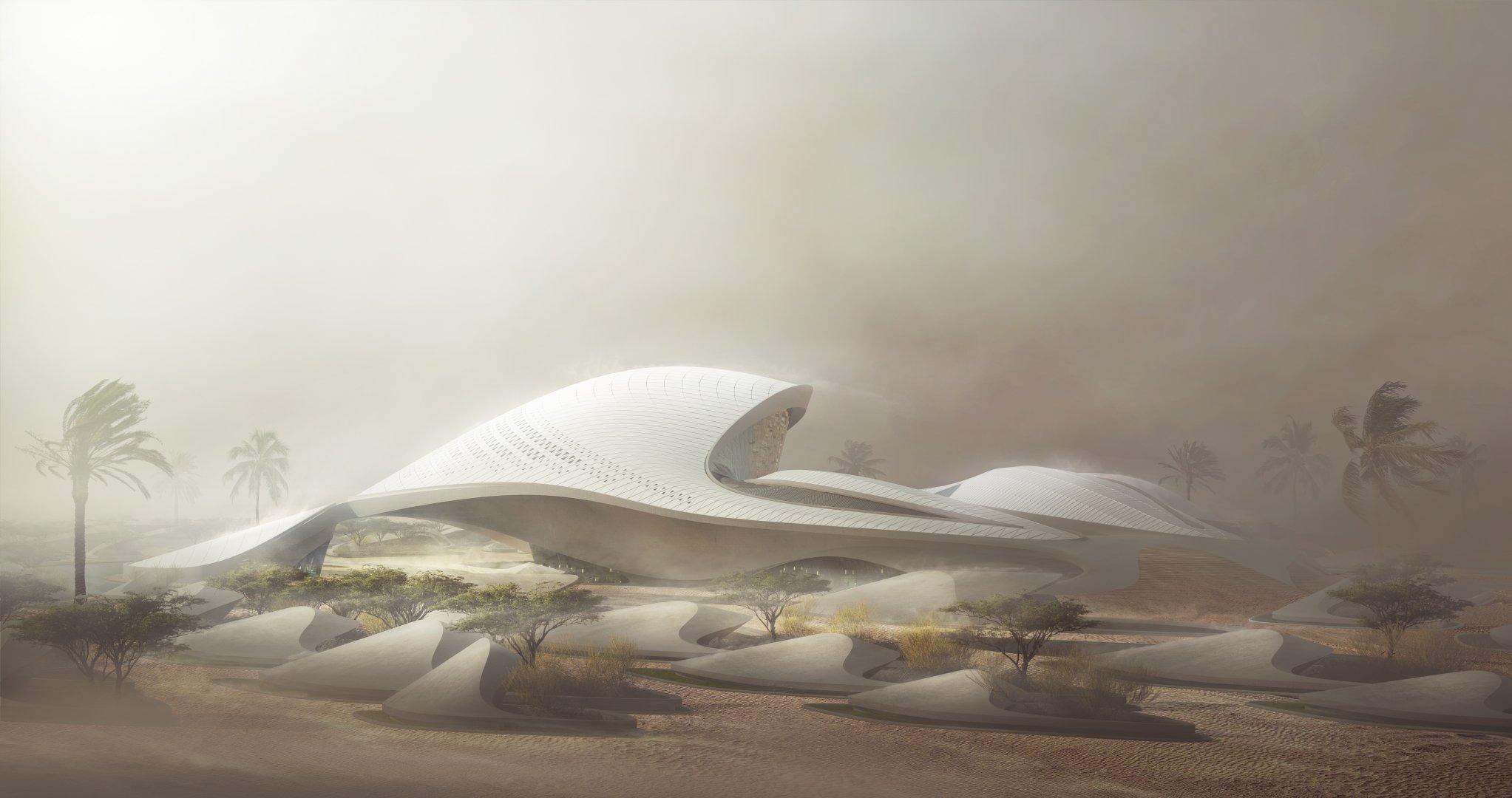 Zaha Hadid 39 S 39 Field Of Sand Dunes 39 For Uae Environmental