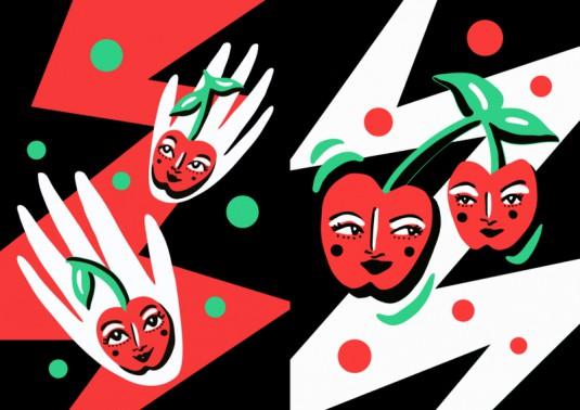 Cherries by Lynnie Zulu