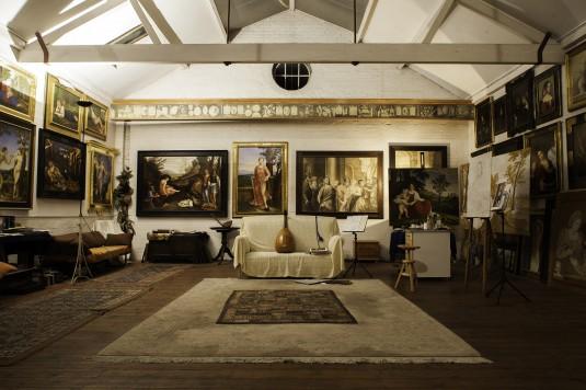 Giorgione's studio