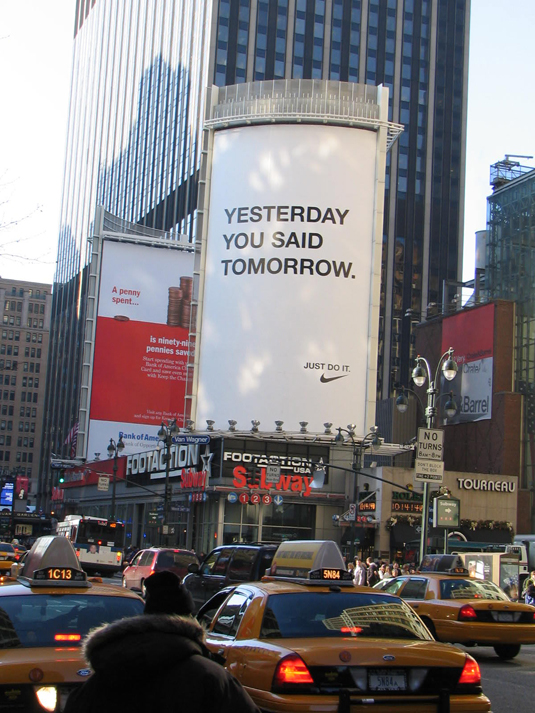 Let S Be Brief Nike Yesterday You Said Tomorrow