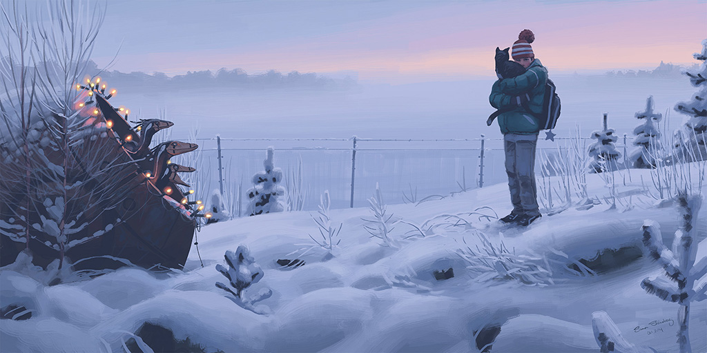 Let's Be Brief | Simon Stålenhag's Tales from the Loop