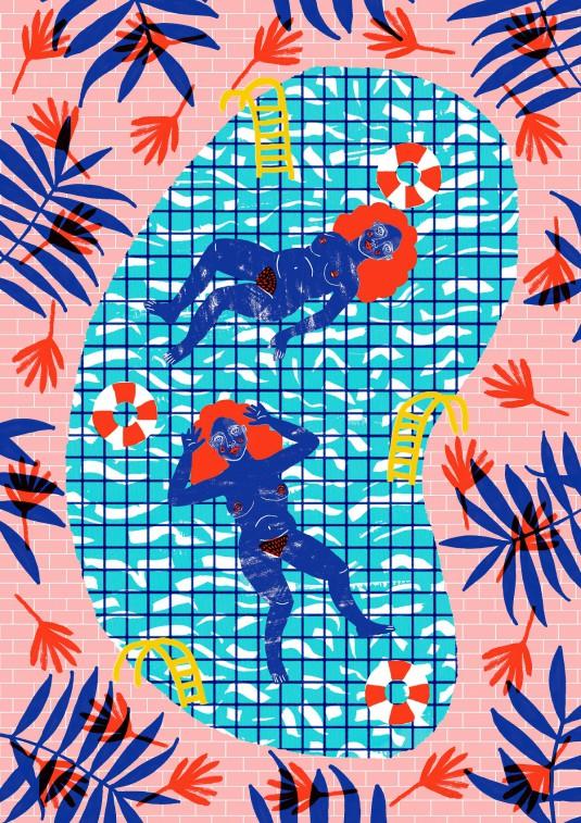 swimming pool print1200