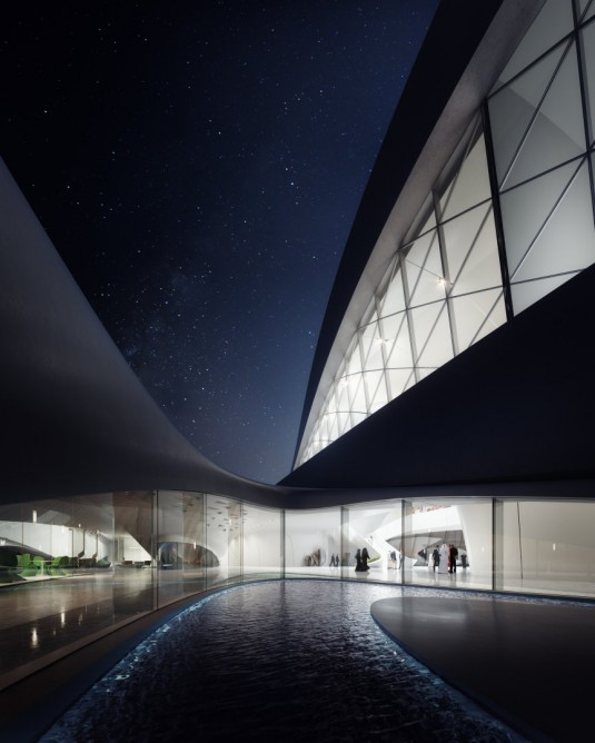 zaha_hadid_sharjah_night_courtyard